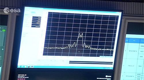 First signal received from Sentinel-3B
