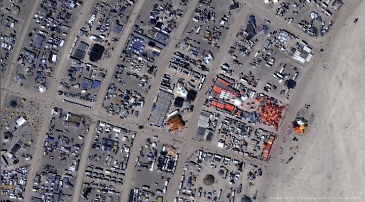 Burning Man 2014 - Google Earth Blog